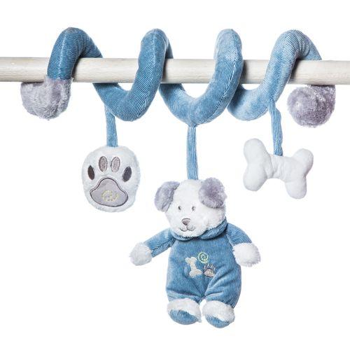 Espiral de perrito Tomy Azul