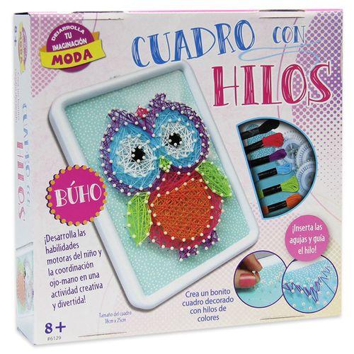 Pack Crea Cuadro con Hilos