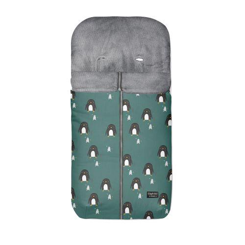 Saco silla polar pingu verde