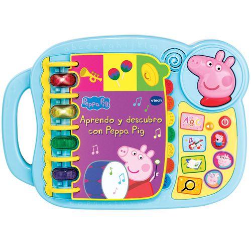 Peppa Pig Libro Electrónico Aprendo y Descubro