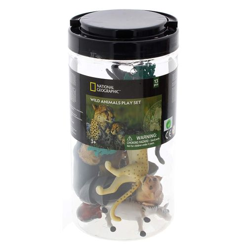 National Geographic Cubo Animales Salvajes 13 Pzs