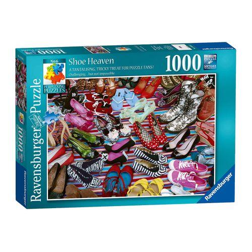 Puzzle Paraiso zapatos 1000 Piezas
