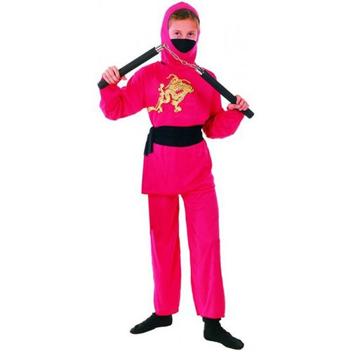 Disfraz Ninja Rojo Intanil