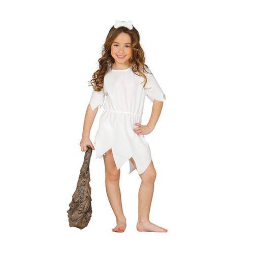 Disfraz de Mujer Troglodita Infantil