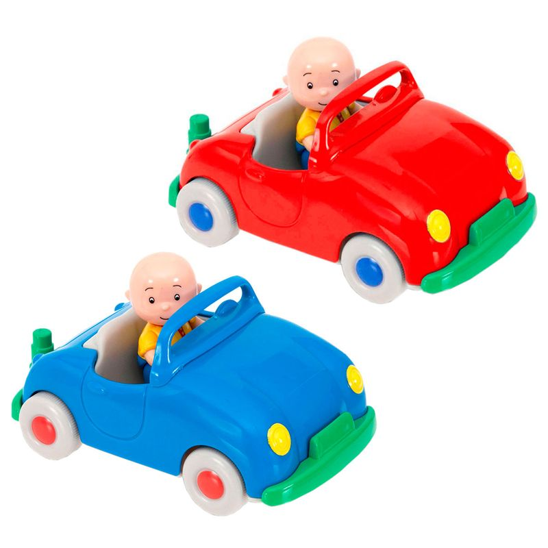 Caillou-Vehiculo-Pull-Back-Surtido