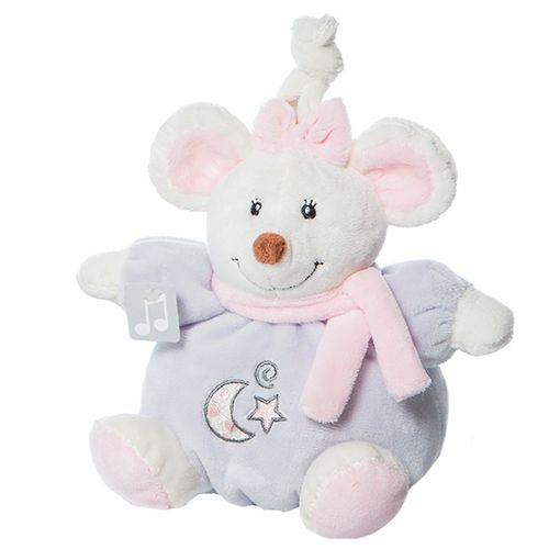 Mini Ratita Musical 16 Cm rosa