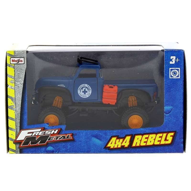Coche-Miniatura-Fresh-Metal--4x-4-Chevrolet-Azul_1