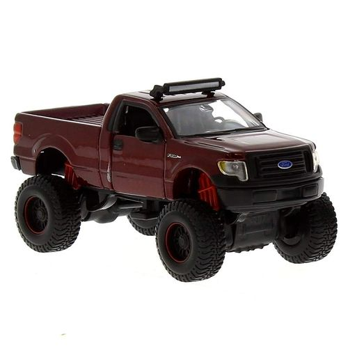 Coche Miniatura Fresh Metal 4x4 Ford rojo