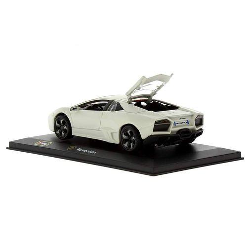 Coche Miniatura Lamborghini Reventón Peana y caja Escala 1:32 Plus