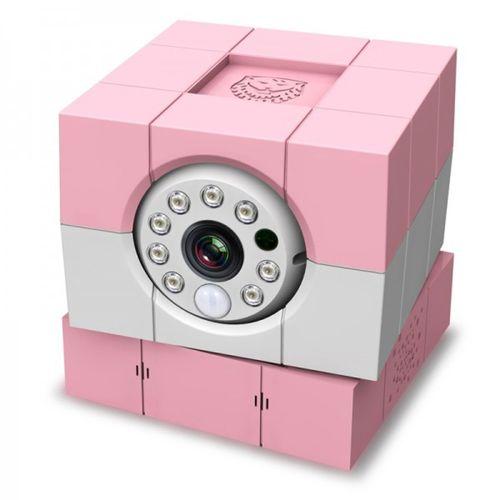 Cámara Vigilabebé iBaby Plus HD Rosa