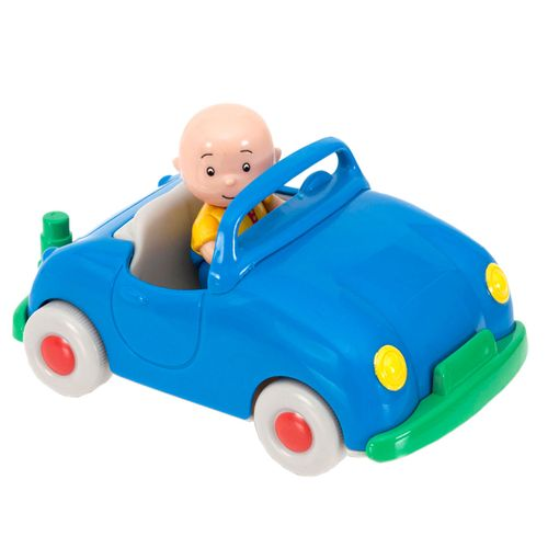 Caillou Vehículo Pull Back Azul