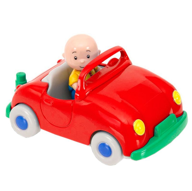 Caillou-Vehiculo-Pull-Back-Rojo