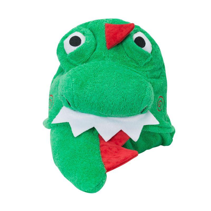 Toalla-niño-con-capucha-Dinosaurio