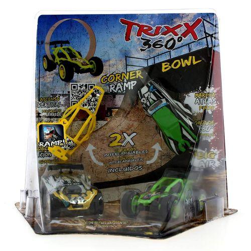 Trixx 360 Half Pipe Verde