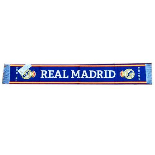 Real Madrid C.F. Bufanda Básica Azul