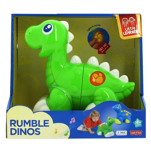 Dinosaurio Infantil Verde