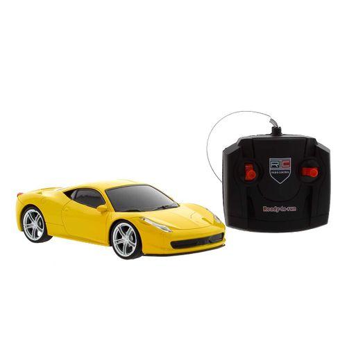 Coche Model 3D Amarillo R/C 1:24