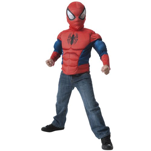 Spiderman Disfraz Múscuro con Careta