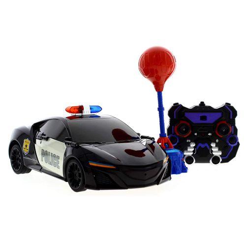 Coche R/C de  Policia Transformable en robot