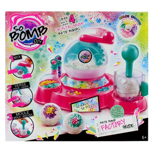 So Bomb DIY Bath Bomb Fábrica de Cristal