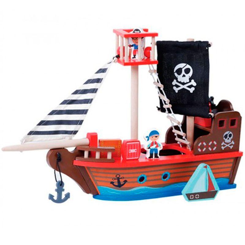 Barco-Pirata-de-Madera