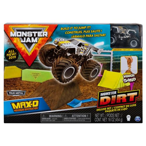 Monster Jam Kinetic Dirt Deluxe Surtido