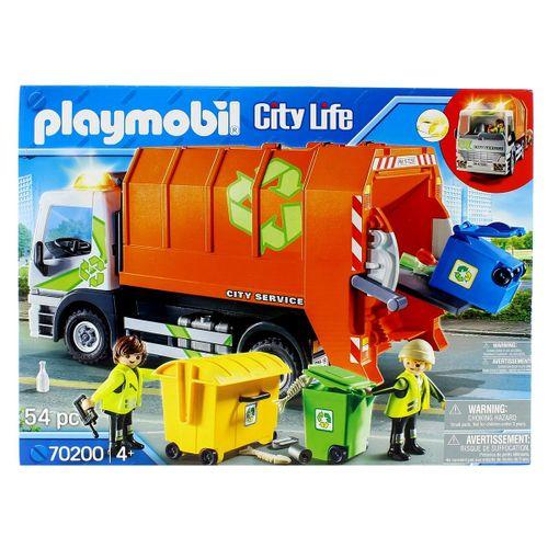 Playmobil City Life Camión de Reciclaje