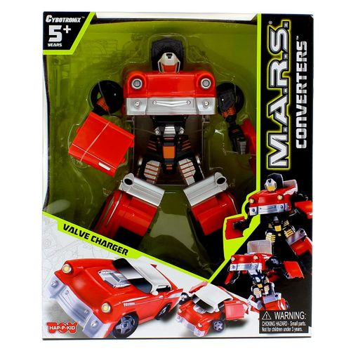 Robot Infantil Transformable Coche Rojo