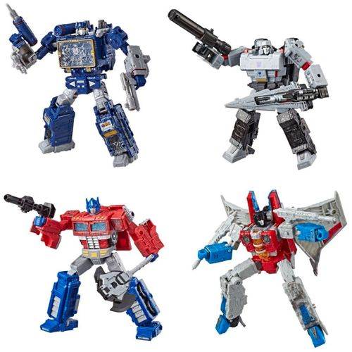 Transformers War For Cybertron Deluxe Surtido