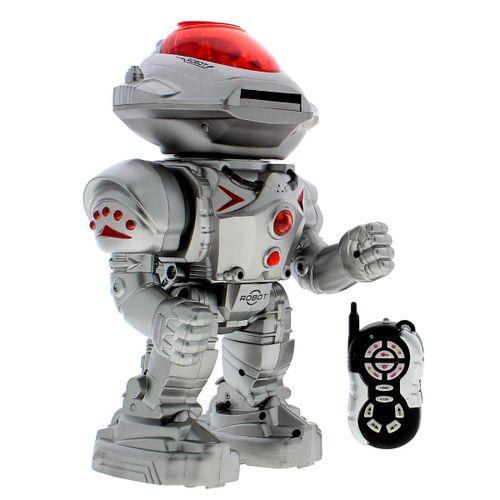 Robot lanza discos