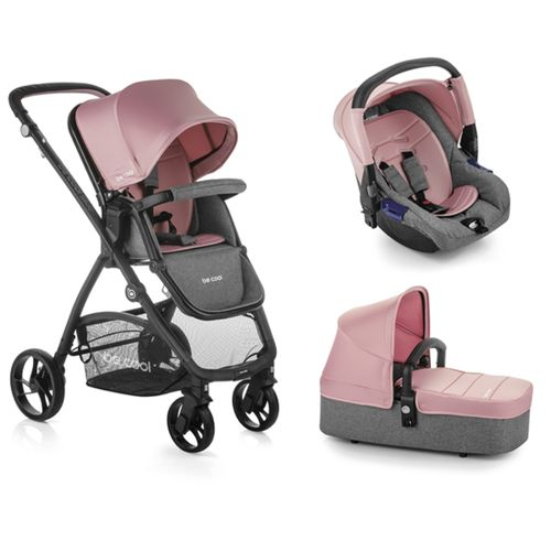 Trio Slide Top plus solid Be Pink