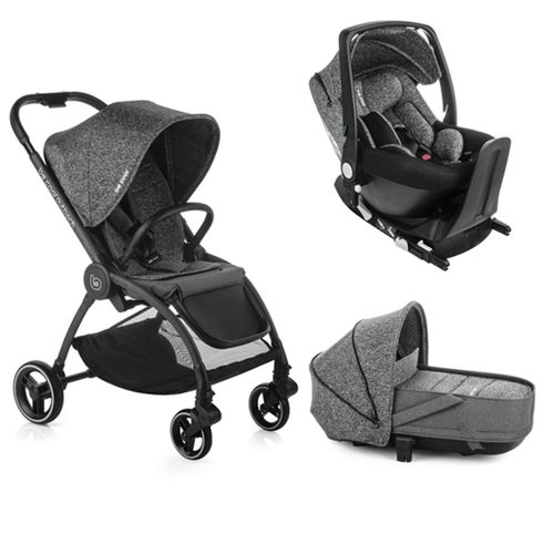 Trio Outback Crib + grupo 0 One con base BeMelange