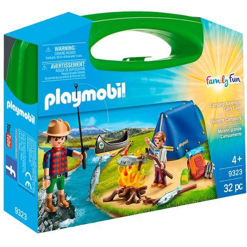 Playmobil Family Fun Maletín Grande Camping