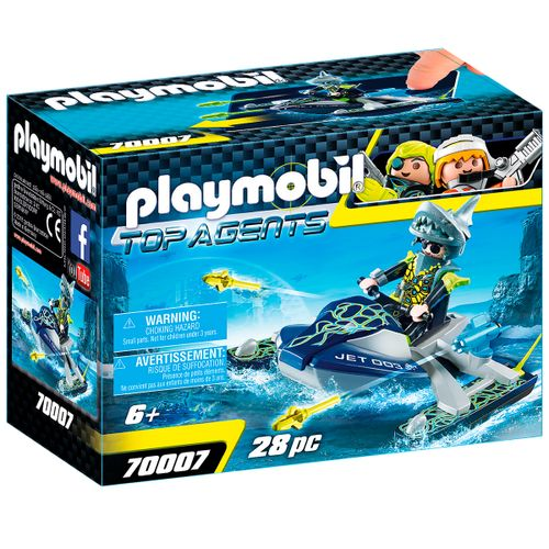 Playmobil Top Agents TEAM S.H.A.R.K. Nave Cohete