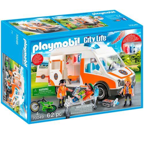 Playmobil City Life Ambulancia con Luces