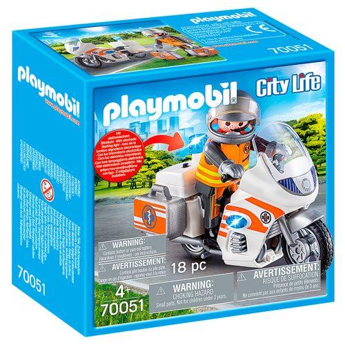 Playmobil City Life Moto de Emergencias
