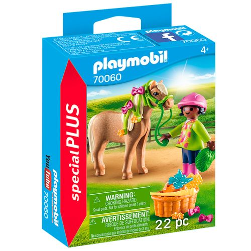 Playmobil Special Plus Niña con Poni