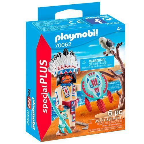 Playmobil Special Plus Jefe Nativo Americano
