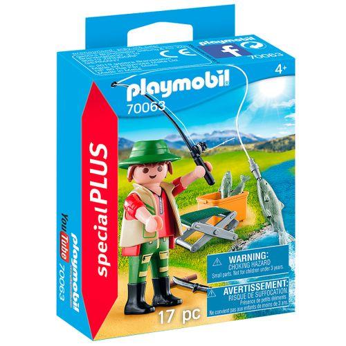 Playmobil Special Plus Pescador 70063