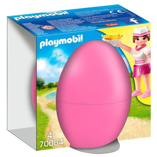 Playmobil Camarera con Mostrador