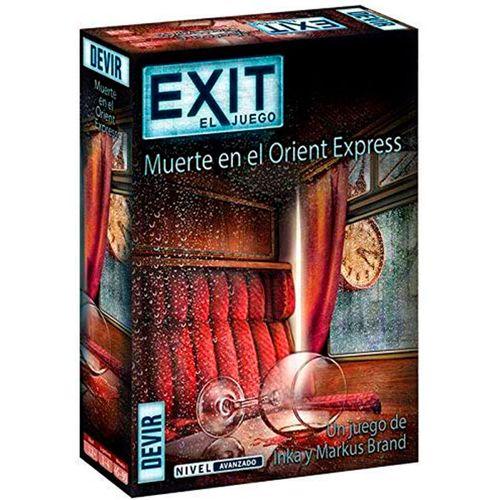 Exit 8 Muerte en el Orient Express Juego de Escape