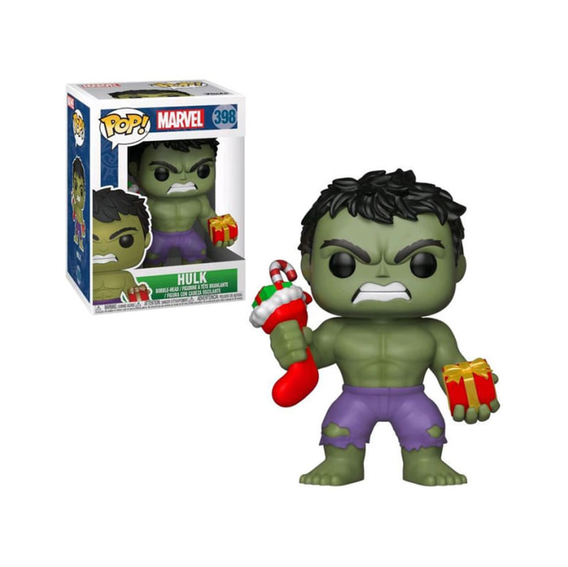 Funko-POP-Marvel-Hulk-Navideño