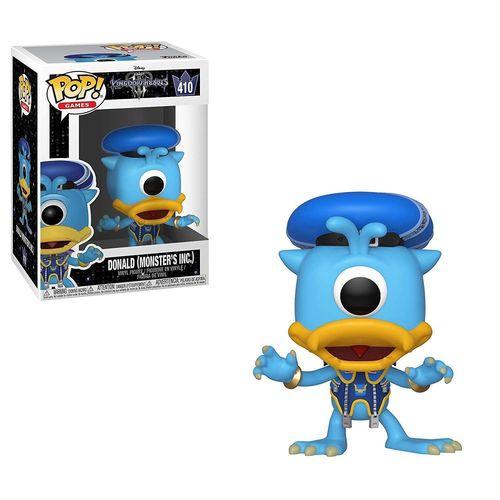 Funko POP Kingdom Hearts 3 Donald Monstruos S.A