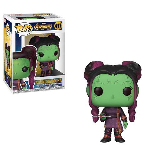 Funko POP Vengadores Infinity War Gamora Joven