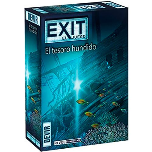 Exit 7 El Tesoro Hundido Juego de Escape