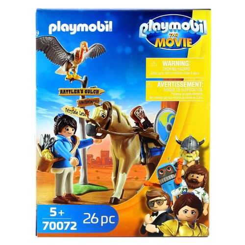 Playmobil Movie Marla con Caballo