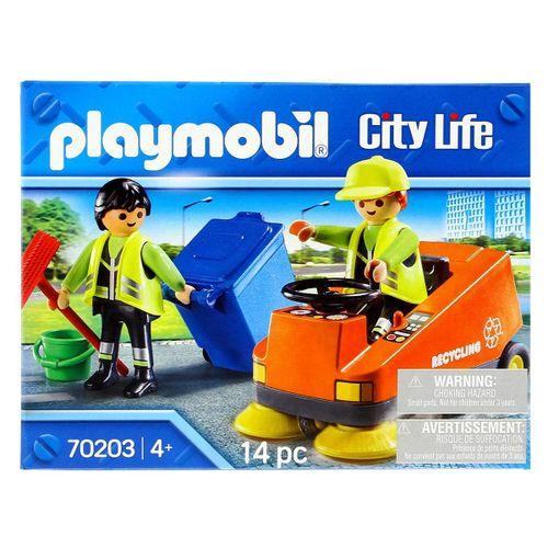 Playmobil City Life Vehículo de Limpieza