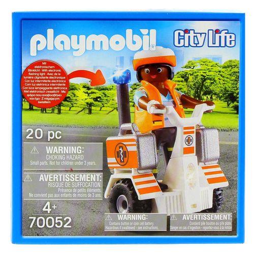 Playmobil City Life Balance Racer de Rescate