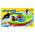 Playmobil-123-Pescador-con-Bote