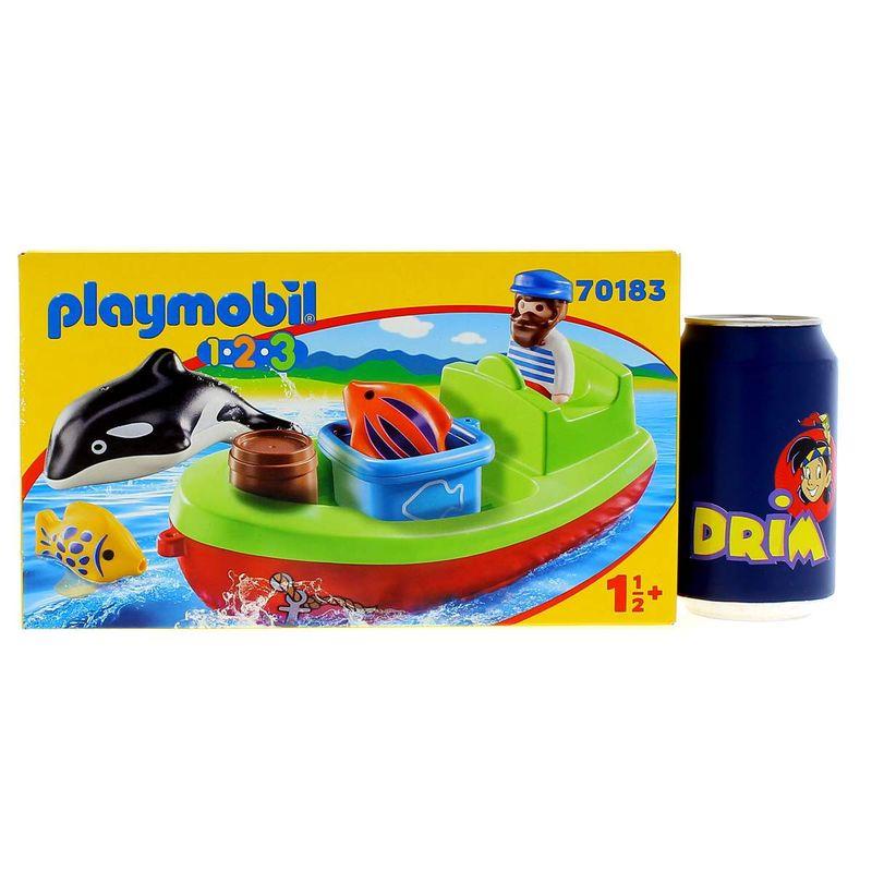 Playmobil-123-Pescador-con-Bote_3